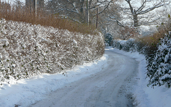 Church Lane in Snow, Salehurst